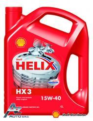 SHELL HELIX HX3 15W-40        4*4 LT