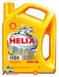 SHELL HELIX HX6 10W-40  3*5 LT