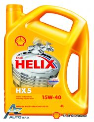 SHELL HELIX HX5 15W-40  4*4LT