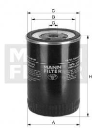 Mann WK 980/1 (Baldwin BF 7587)