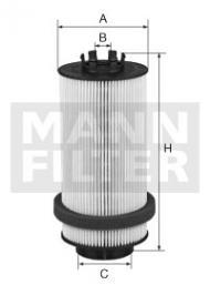 Mann PU 966x (Mann PU 966/2x, Baldwin PF 7946)