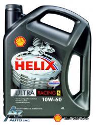 SHELL HELIX ULTRA RACING 10W-60   4*4 L