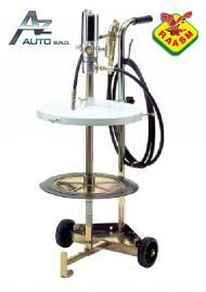 RAASM Pneumatický lis pl. maziva 18 kg s vozíkem