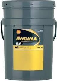 SHELL RIMULA R6 MS 10W-40 20 LT