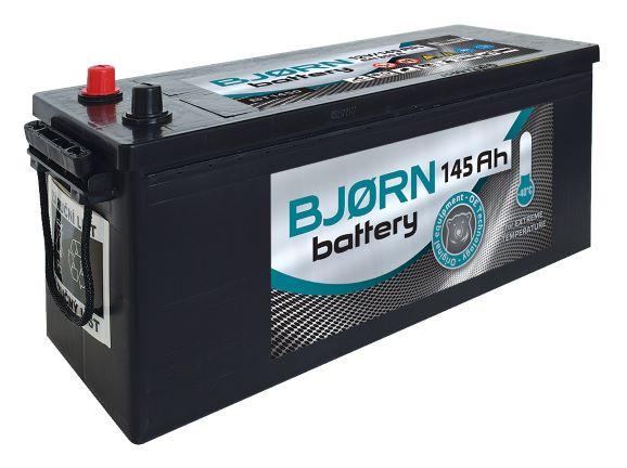 Autobaterie Bjorn SHD 12V, 145Ah, 850A SMF