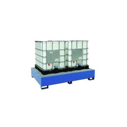 Záchytná vana (rošt) 2x1000L