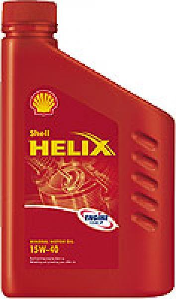 SHELL HELIX HX3 15W-40         12*1 LT