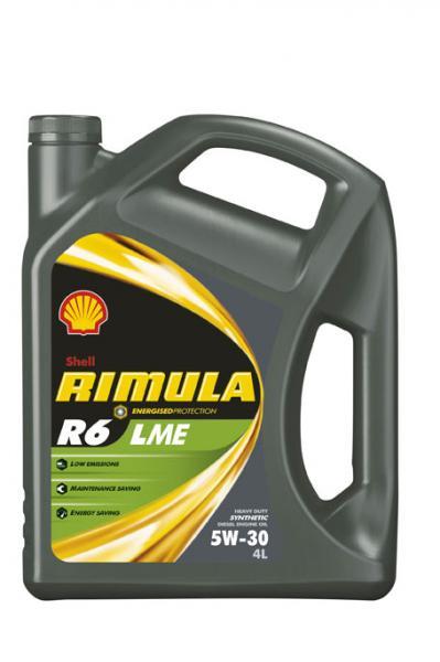 SHELL RIMULA R6 LME 5W-30 4*4 L